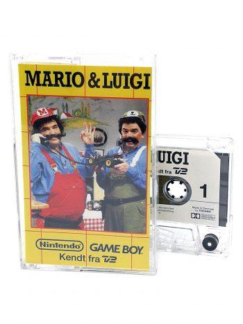Mario & Luigi kassettebånd