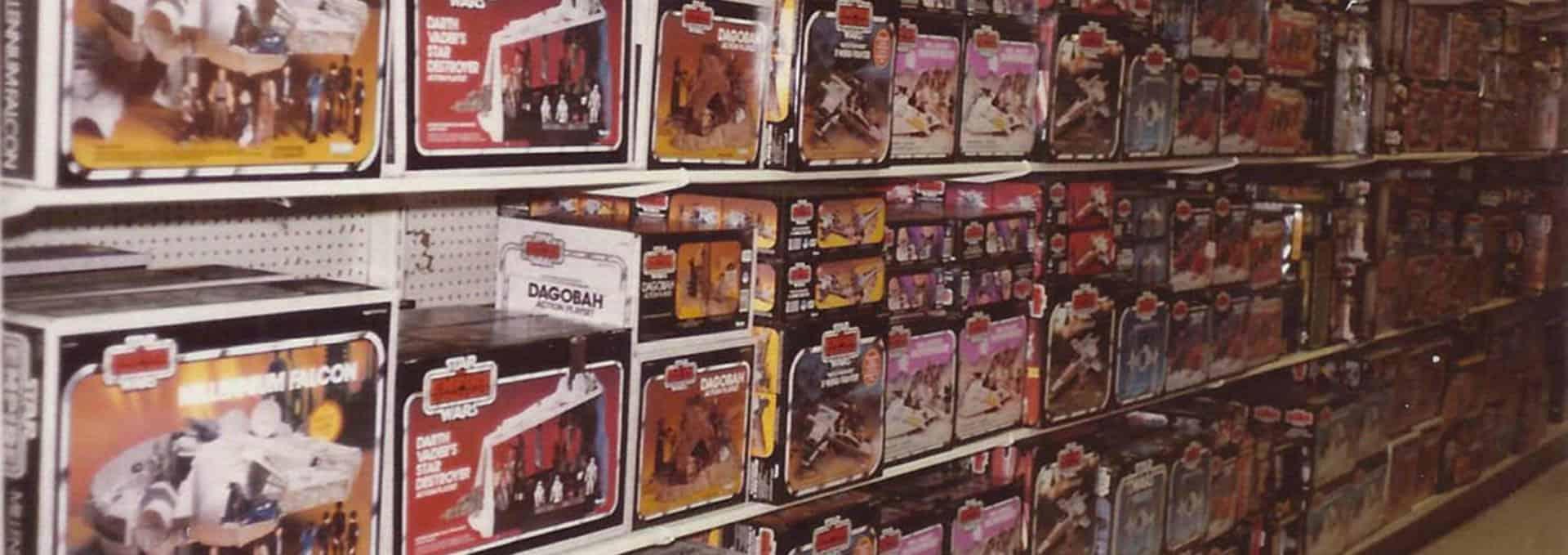 retro legetøj star wars