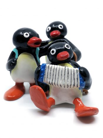 3 Pingu figurer