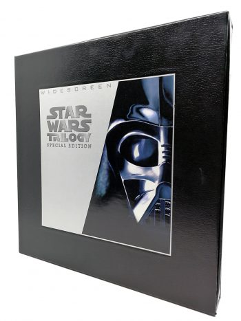Star Wars trilogy laserdisc