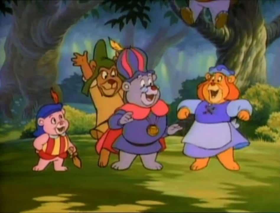 bubbibjørnene figurer