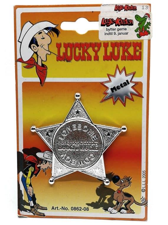 Lucky Luke sherif stjerne