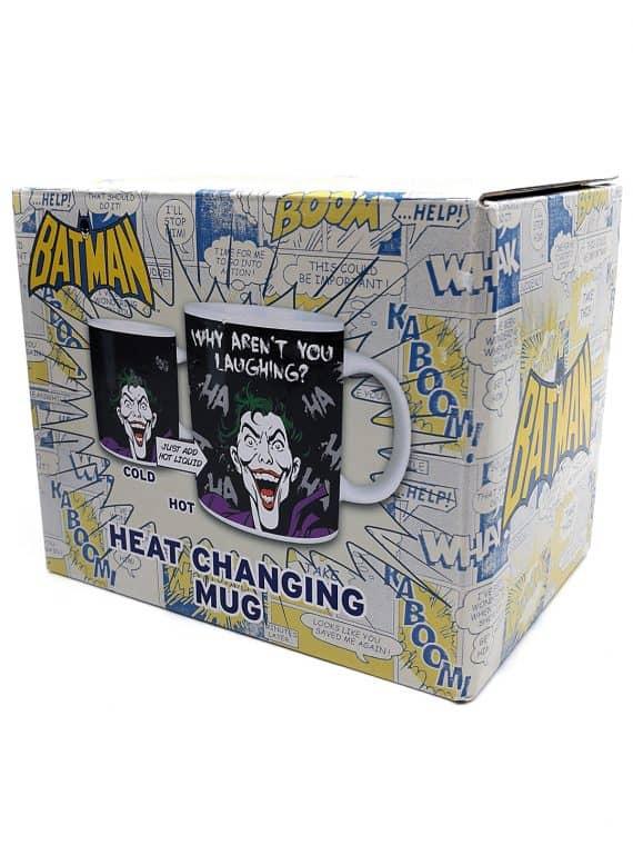 Batman - The joker heat changing mug