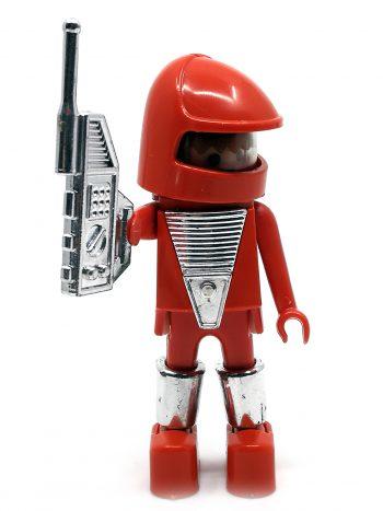 rød Playmobil astronaut