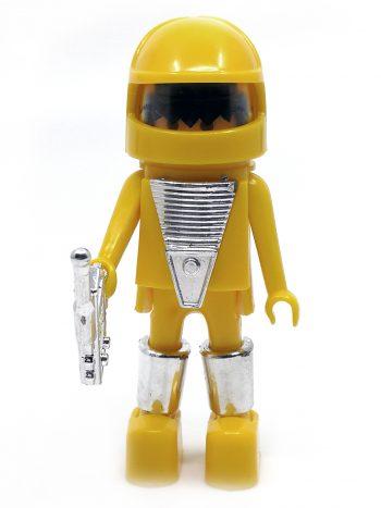 Gul Playmobil astronaut