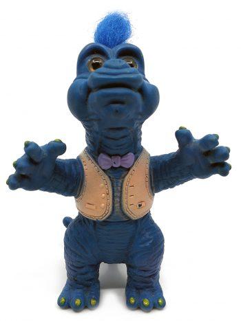 blå dino