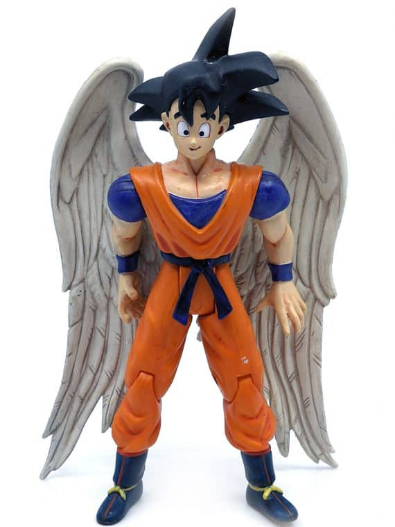 Dragon Ball Z Angel Goku Halo Wings