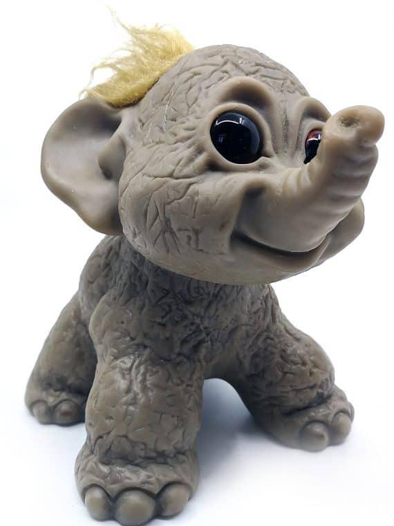 Thomas Dam Gjøl elefant