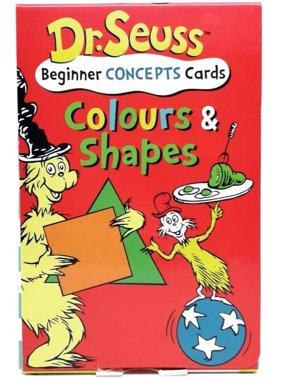Dr. Seuss - Beginner concepts cards