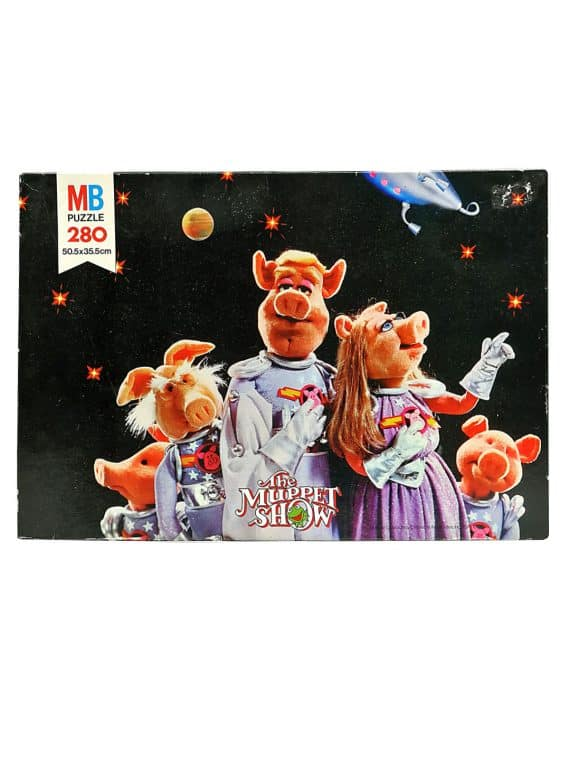 Muppets in space - puslespil.