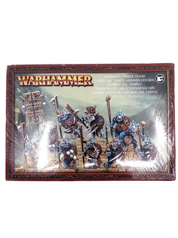Lizardmen temple guard - Warhammer