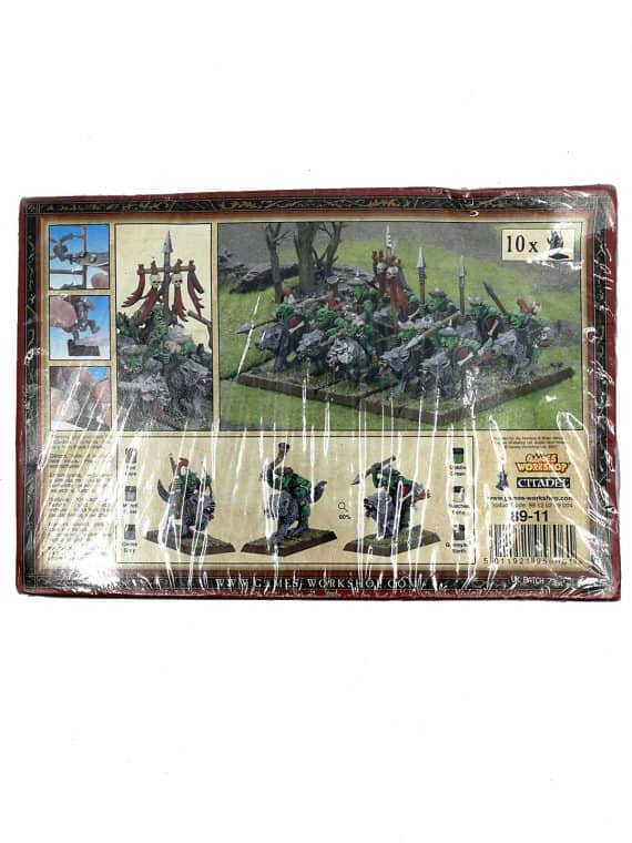 Goblin Wolf Riders - Warhammer