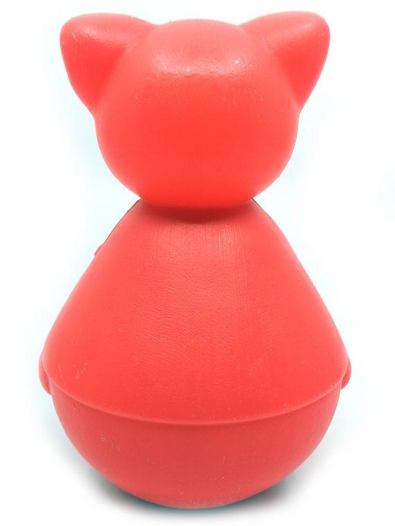 Rød plastik kat