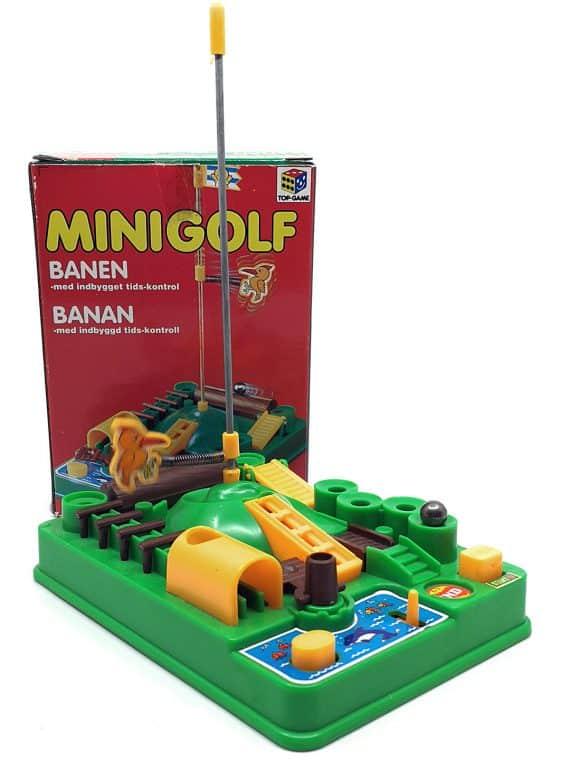 Minigolf banen