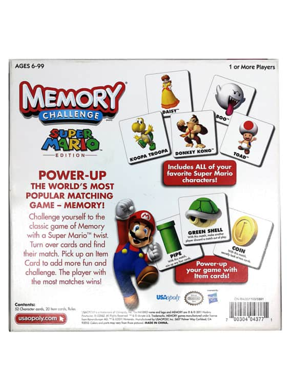 Super Mario - Memory challenge