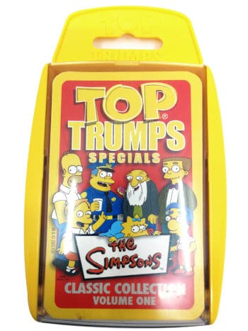 The Simpsons - Top trump