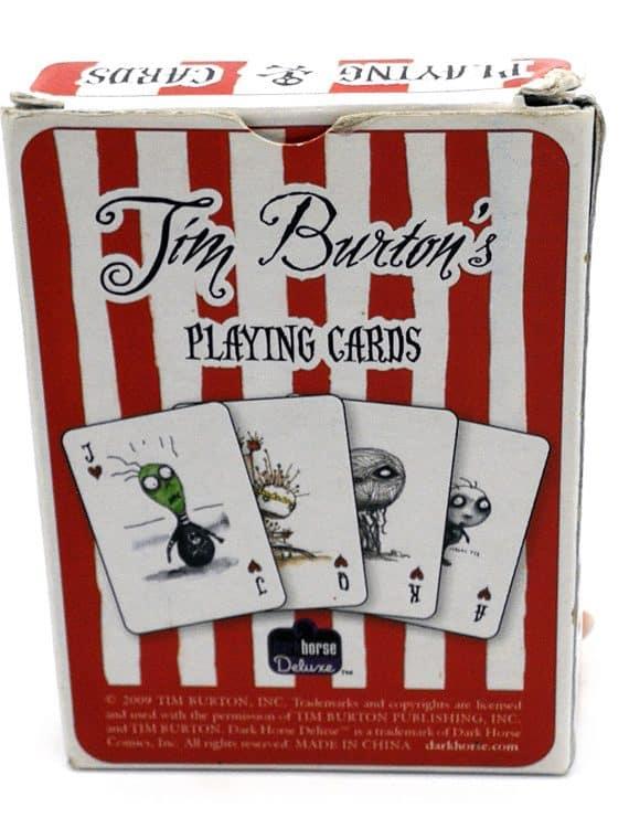 Tim Burton - Playing cards