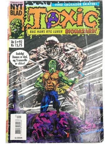 Toxic Crusaders er en animeret serie fra 1991 baseret på The Toxic Avenger-film. Den indeholder Toxie, hovedpersonen i filmene, der fører en gruppe af superhelt, der passer godt ind, der bekæmper forurening.