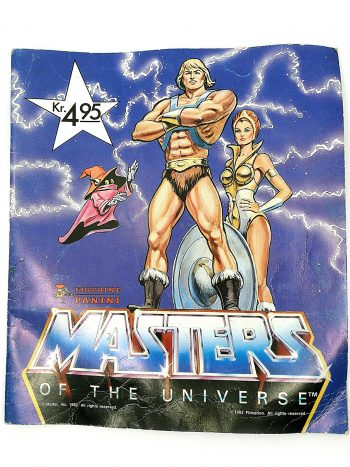 Masters of the universe samlehæfte