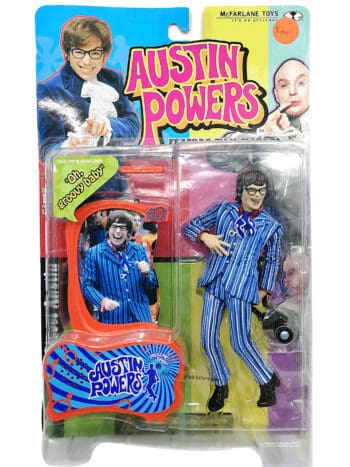 Austin Powers - Feature film figures