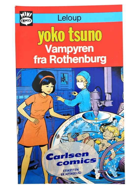 Yoko Tsuno - Vampyren fra Rothenburg - Mini comics