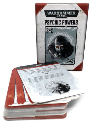 Warhammer 40.000 - Psychic powers