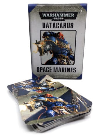 Warhammer 40.000 - Datacards - Space marines