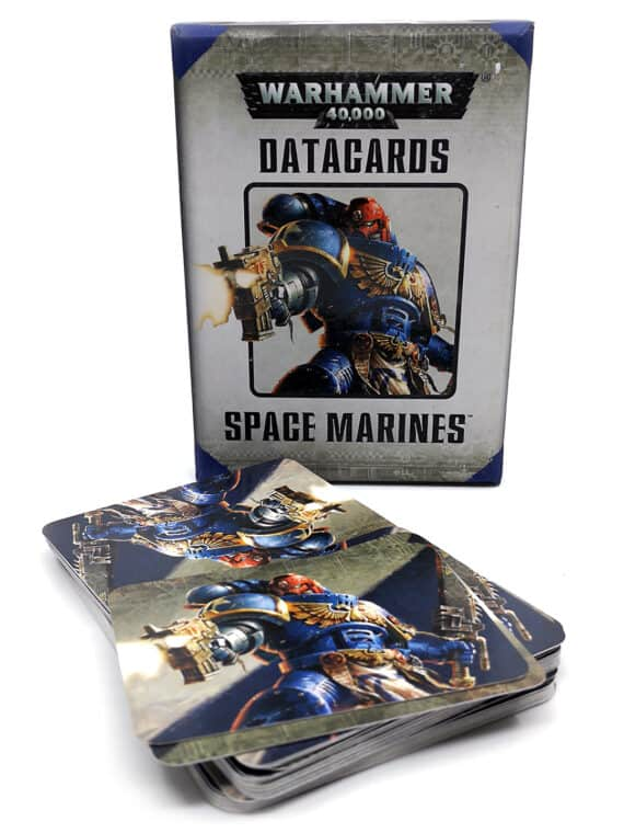 Warhammer 40.000 - Datacards - Space marines