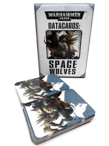 Warhammer 40.000 - Datacards - Space wolves