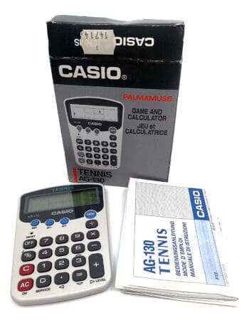 Casio game and calculator
