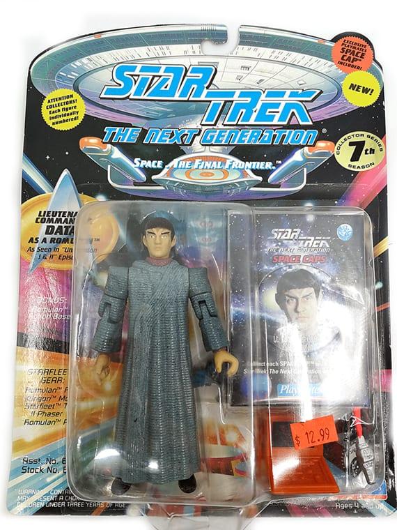 Data as a Romulan - Star Trek