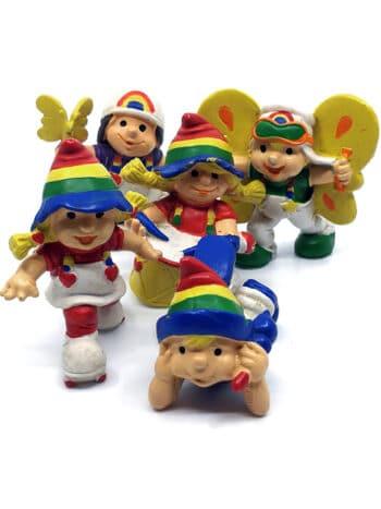 5 stk. Rainbow Kids