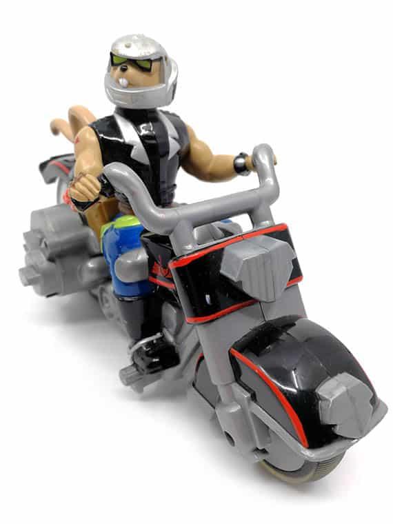 Motormus fra Mars motorcykel